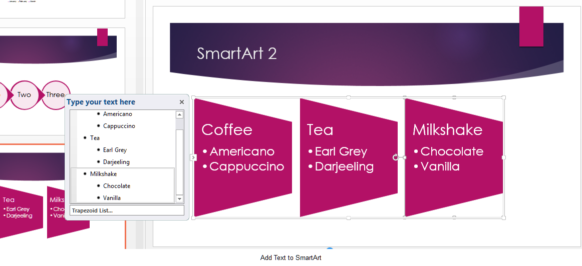 how to use smartart graphics in powerpoint 2013