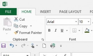 'Quick Acces Toolbar' In Excel 2016.