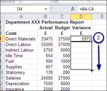 ms excel 2016 how to copy formulas in excel bookboon blog