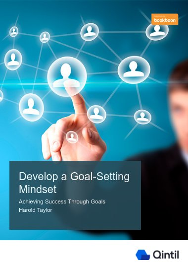 Develop A Goal-Setting Mindset
