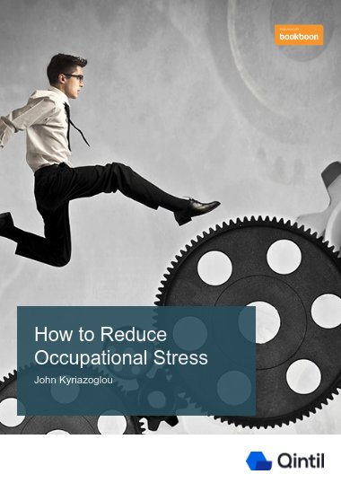 How to Reduce Occupational Stress