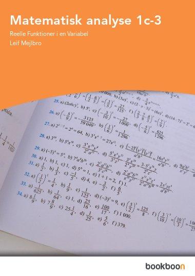 Matematisk analyse 1c-3