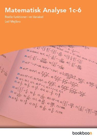 Matematisk Analyse 1c-6