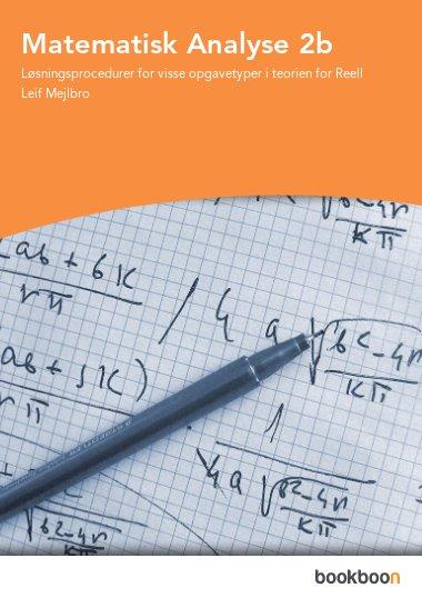 Matematisk Analyse 2b