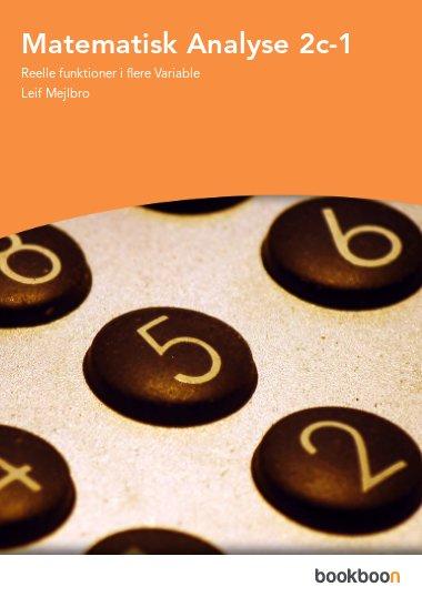 Matematisk Analyse 2c-1