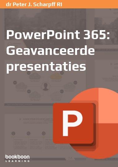 PowerPoint 365: Geavanceerde presentaties