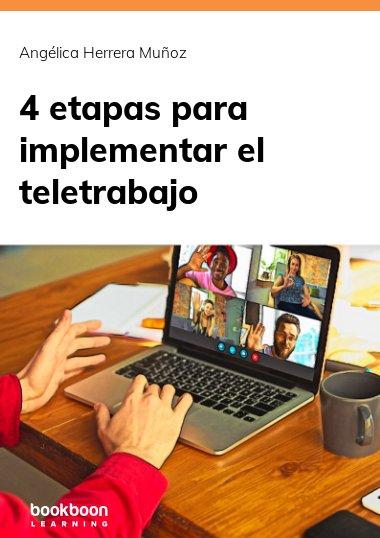 4 etapas para implementar el teletrabajo