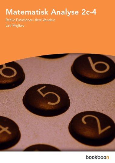 Matematisk Analyse 2c-4
