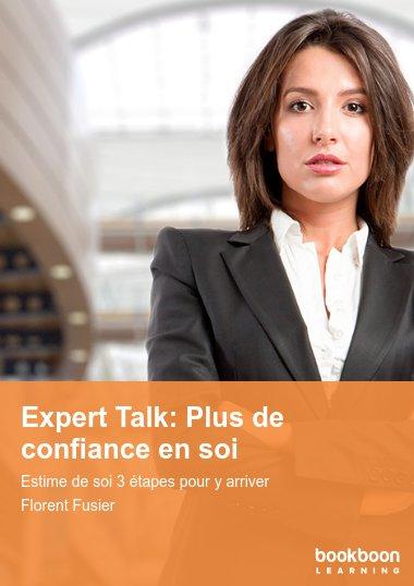 Expert Talk: Plus de confiance en soi