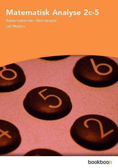 Matematisk Analyse 2c-5