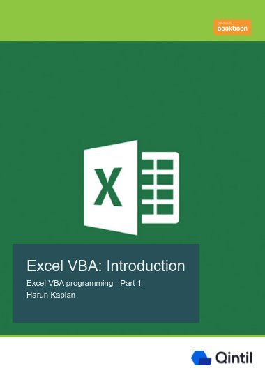 Excel VBA: Introduction