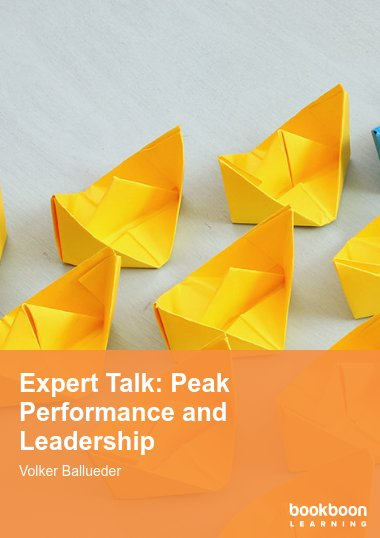 Expert Talk: Peak Performance and Leadership