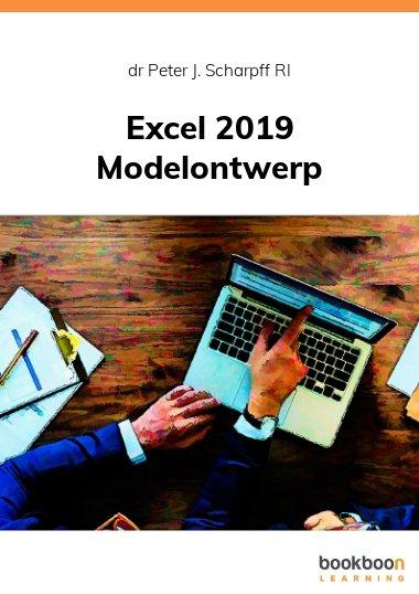 Excel 2019 Modelontwerp