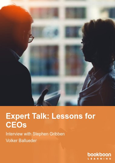 Expert Talk: Lessons for CEOs