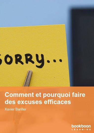Comment et pourquoi faire des excuses efficaces
