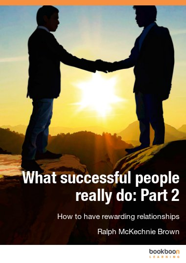 What successful people really do: Part 2