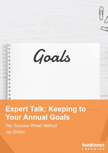 Expert Talk: Keeping to Your Annual Goals