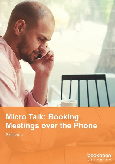 Micro Talk: Booking Meetings over the Phone