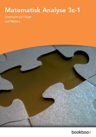 Matematisk Analyse 3c-1