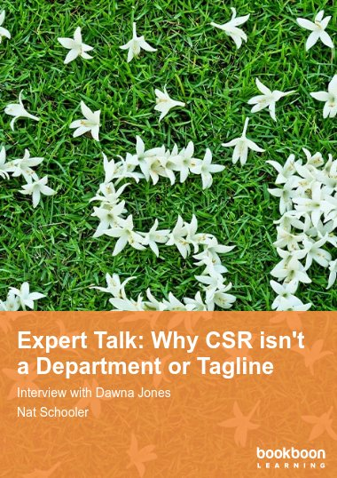 Expert Talk: Why CSR isn't a Department or Tagline