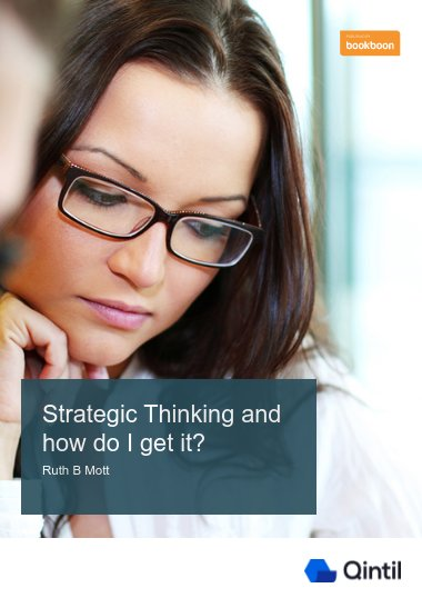 Strategic Thinking and how do I get it?
