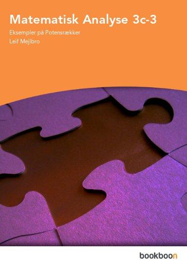 Matematisk Analyse 3c-3