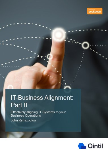 IT-Business Alignment: Part II