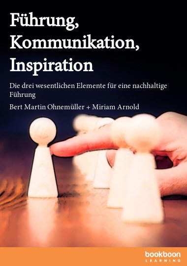 Führung, Kommunikation, Inspiration