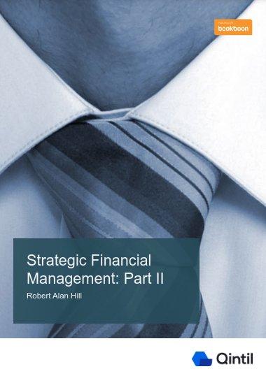 Strategic Financial Management: Part II