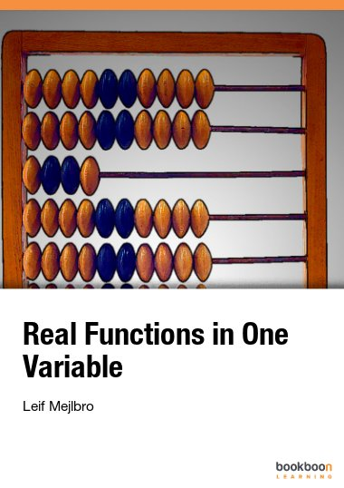 Real Functions in One Variable