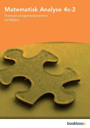 Matematisk Analyse 4c-2