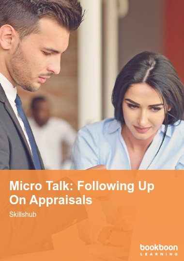 Micro Talk: Following Up On Appraisals