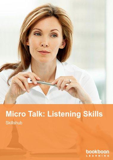 Micro Talk: Listening Skills
