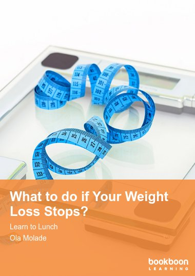 What to do if your weight loss stops?