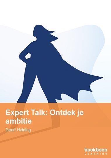 Expert Talk: Ontdek je ambitie