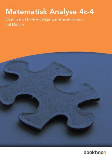 Matematisk Analyse 4c-4