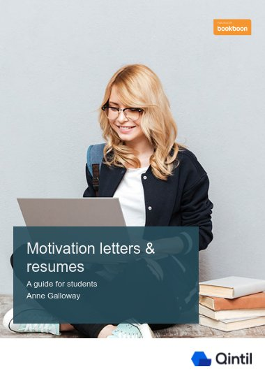 Motivation letters & resumes