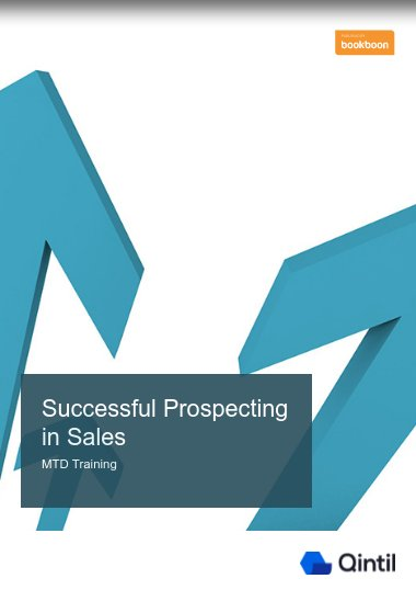 Successful Prospecting in Sales