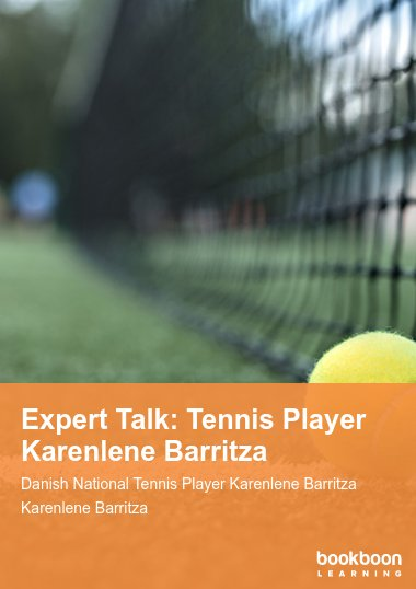Expert Talk: Tennis Player Karenlene Barritza