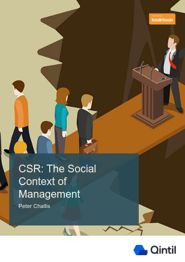 CSR: The Social Context of Management