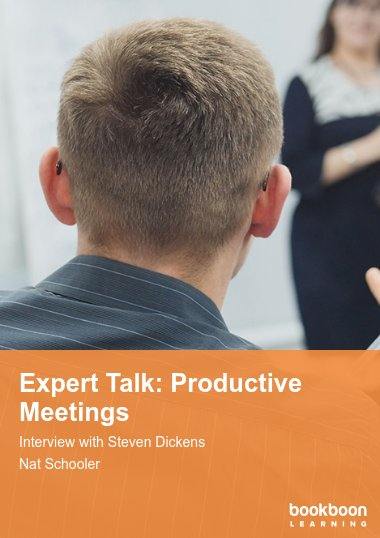 Expert Talk: Productive Meetings