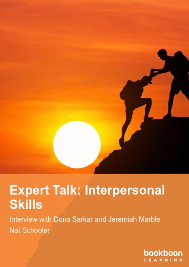 Expert Talk: Interpersonal Skills