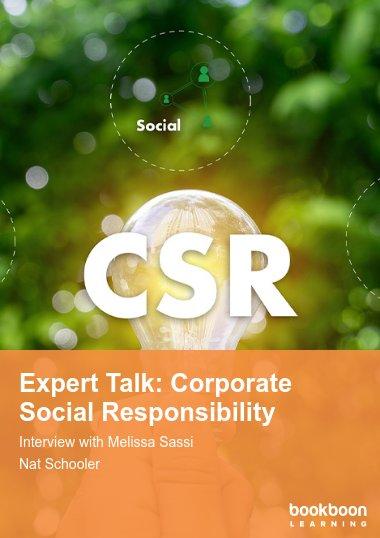 Expert Talk: Corporate Social Responsibility