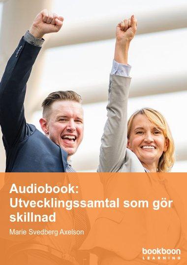 Audiobook: Utvecklingssamtal som gör skillnad