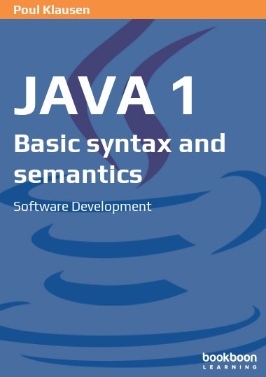Java 1: Basic syntax and semantics