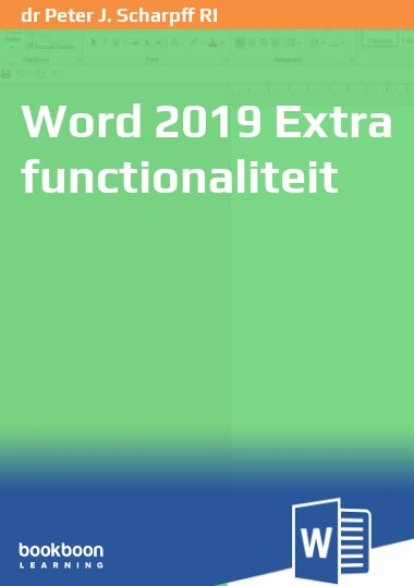 Word 2019 Extra functionaliteit