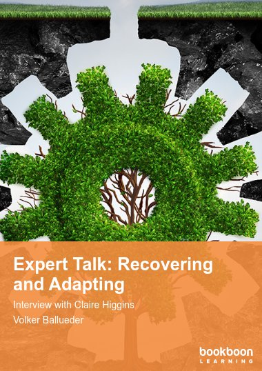 Expert Talk: Recovering and Adapting