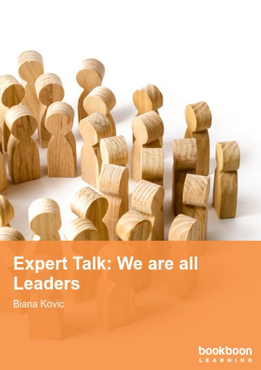 Expert Talk: We are all Leaders