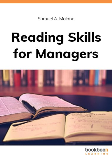 Reading Skills for Managers