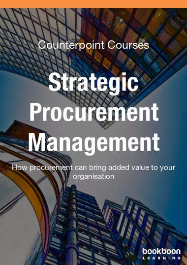 Strategic Procurement Management